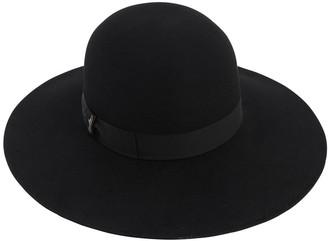 Borsalino Violet Rabbit Felt Hat