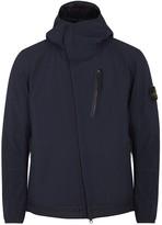 Stone Island Navy Hooded Shell Jacket