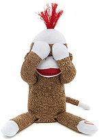 Baby Starters Sock Monkey Peek-a-Boo Toy
