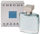 Azzaro Chrome By For Men. Eau De Toilette Spray 1.7 Ounces