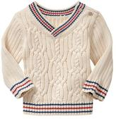 Gap Tipped cable sweater