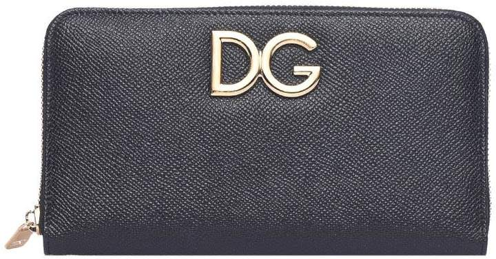 Dolce & Gabbana Black Peather Wallet