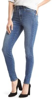 Gap STRETCH 1969 true skinny super high rise jeans