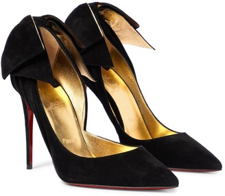 Christian Louboutin Exclusive to Mytheresa Rabakate 100 suede pumps