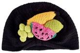 San Diego Hat Company Infant Crochet Fruit Basket Turban Beanie DL2543