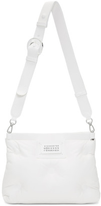 Maison Margiela White Small Glam Slam Bag