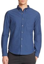 Madison Supply Cotton Dobby Sportshirt