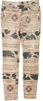 Current/Elliott Vintage Tribal Destroy Skinny Jeans