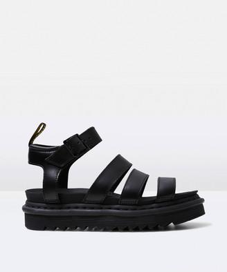 Dr. Martens Blaire Leather Sandal Black