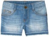 Crazy 8 Let-Down Hem Jean Shorts