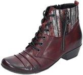 Remonte Women Ankle Boots red, (chianti/-grau/bur) D7390-35