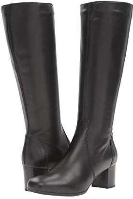 La Canadienne Jennifer (Black Leather) Women's Boots