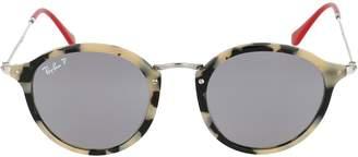 Ray-Ban Round Fleck Pop Sunglasses