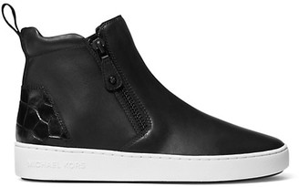 MICHAEL Michael Kors Clay High-Top Leather Sneakers