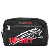 Plein Sport - logo print wash bag - men - Nylon/Polyester/Polyurethane - One Size
