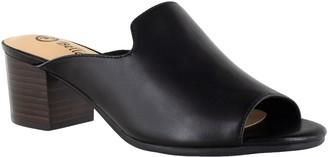 Bella Vita Leather Mule Sandals - Daisy