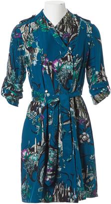 Matthew Williamson Turquoise Silk Dresses