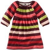 Tea Collection Skola Stripe Babydoll Dress