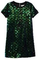 Soprano Girl's Mermaid Sequin Shift Dress