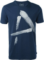 Armani Jeans painted 'A' T-shirt - men - Cotton - S