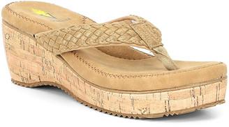 Volatile Women's Sandals GOLD - Gold Torador Wedge Sandal - Women