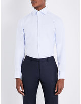 Canali Regular-fit Pindot Cotton Shirt