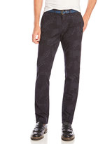 Scotch & Soda Stuart Printed Belted Chino Pants