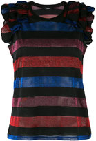 Diesel lurex stripe tank - women - Cotton/Polyester - M