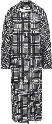 Marni Checked Tweed Coat