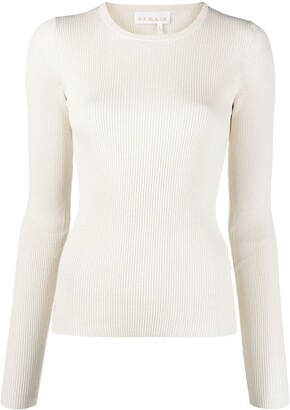 REMAIN Cut-Out Ribbed Top