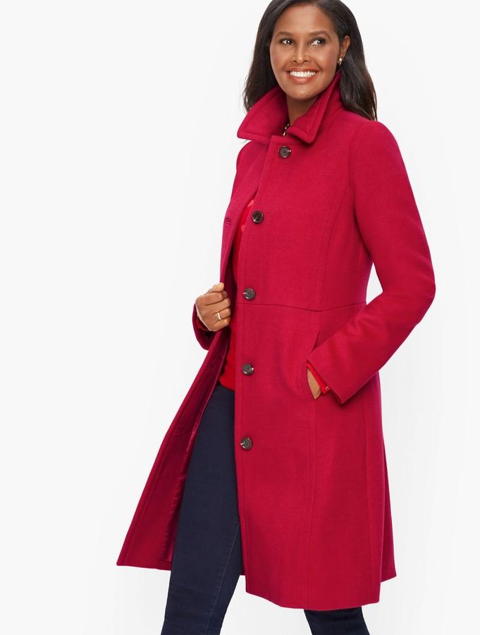 Talbots Tailored Wool Coat