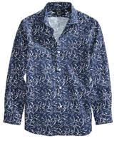 DKNY Marbled-Print Shirt, Big Boys