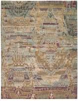 Nourison Dune Rug - Oversized Ikat Pattern, 12' x 15'
