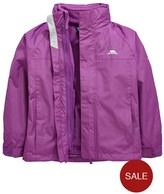 Trespass GIRLS SKYDIVE 3 IN 1 JACKET