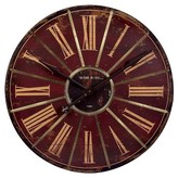 "Aurora Traditional Decorative Clock (3.5 X 32.5 X 31.5"")"