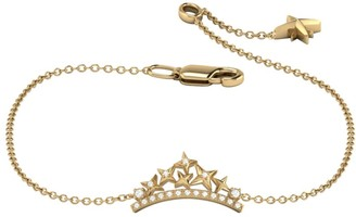 Lmj Starry Cascade Bracelet In 14 Kt Yellow Gold Vermeil On Sterling Silver