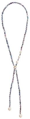 Max Mara Beaded Pearl Necklace