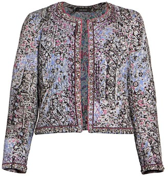 Isabel Marant Fanson Blooming Quilt Jacket