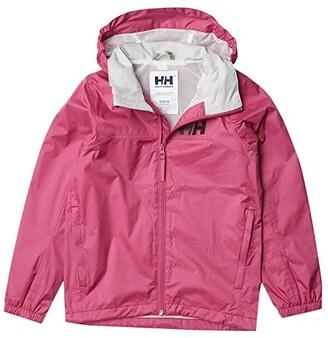 Helly Hansen Kids Jr Urban Rain Jacket (Big Kids) (Magenta Haze) Girl's Coat