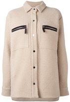 Filles a papa 'Saul' jacket - women - Lamb Skin/Polyamide/Wool - II