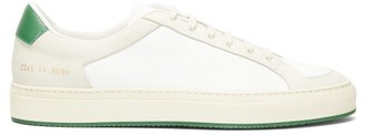 Common Projects Achilles Retro Leather Trainers - White Multi