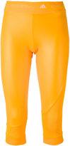 adidas by Stella McCartney Training three-quarter tights - women - Recycled Polyester/Spandex/Elastane - XS