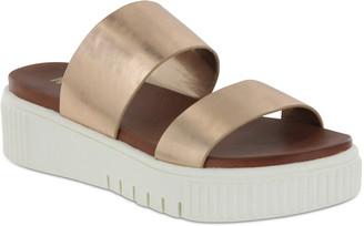 Mia Jordi Platform Slide Sandal