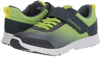 Tsukihoshi Turbo (Toddler/Little Kid) (Green/Gray) Boy's Shoes