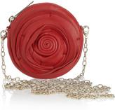 Valentino Rosette Mini leather pouch