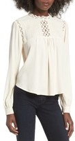 Astr Women's Embroidered Blouse