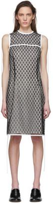 Loewe Black Silk Lace Short Dress