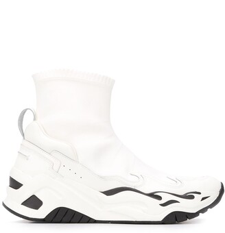 Just Cavalli Panelled Sock Sneakers