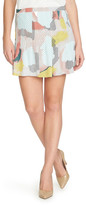 1 STATE 1.State Pintuck Pleat Miniskirt