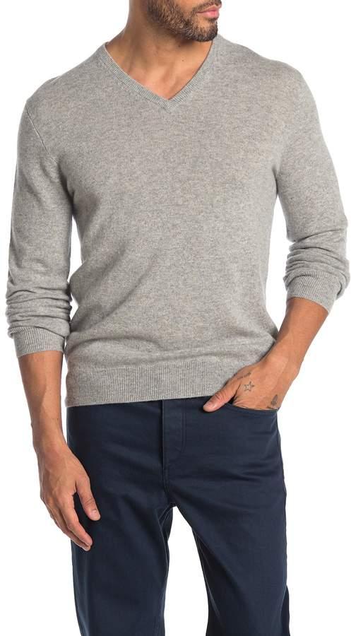J.Crew J. Crew Everyday Cashmere Regular Fit V-Neck Sweater
